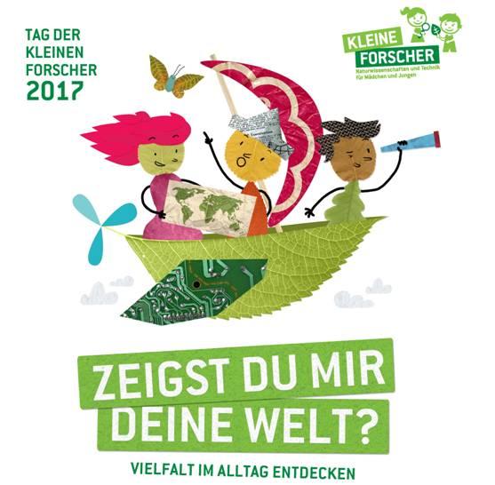 """Abendsternwelt Der Alltag: """"Tag Der Kleinen Forscher"""" 2017: """"Zeigst Du Mir Deine Welt"""